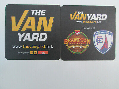 BRAMPTON BREWERY/THE VAN YARD Beermat/Bierdeckel.