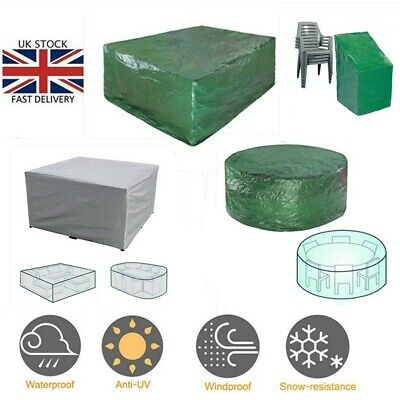 Heavy Duty Garden Waterproof Cover Table Furniture Cover Weatherproof Outdoor