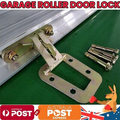 AU Garage Roller Door Lock Zinc Plated 304 Stainless Steel Anchor Extra Security