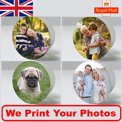 Personalised Photo Pop Out Phone Holder Finger Expanding Socket Stand Up - UK
