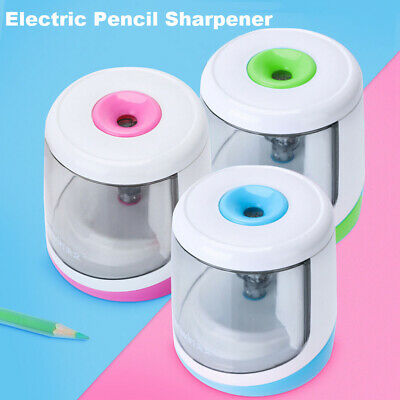 Stationery Cutting Tools Battery Operated Automatic Electric Pencil Sharpener