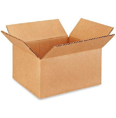 50 8x6x4 Cardboard Paper Boxes Mailing Packing Shipping Box Corrugated Carton