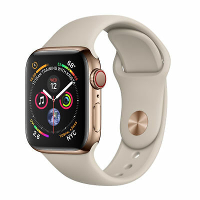 Apple Watch Series 4 40 mm Gold Stainless Steel Case GPS And cellular