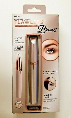 Finishing Touch Flawless Brow Hair Remover - 18K Gold Plated