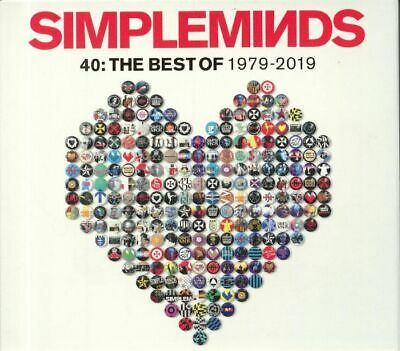 SIMPLE MINDS - 40: The Best Of 1979-2019 - CD (3xCD)