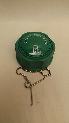 "Kelch Green Diesel Fuel Only Cap 2 1/4"", 225 Vented Fits Aluminum Tanks"