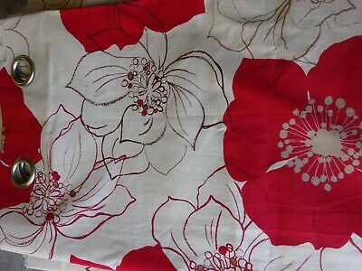 """Ring Top Lined Curtains 78"""" x 80"""""""
