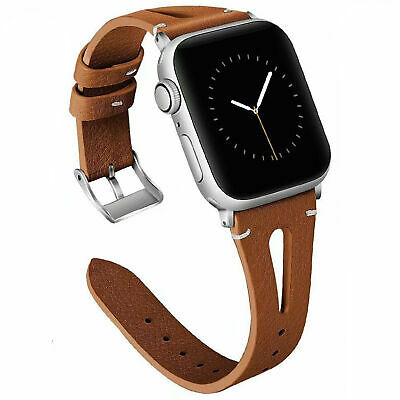 For iWatch Apple Watch Series  Leather Watch Bands Strap 38/40/42/44mm