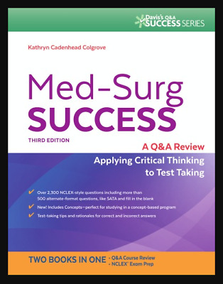 Med-Surg Success Q&A Review Applying Critical Thinking【P.D.F by E-maiL 】