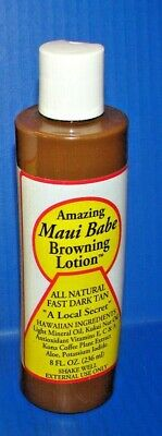 new Maui Babe Browning Lotion 8oz Tanning Lotion  *BRAND NEW*