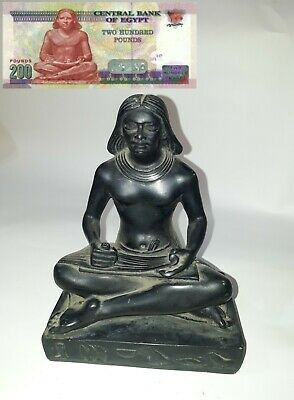 Egyptian Pharaonic statue very rare The writer of King Khafre Ancient Antique