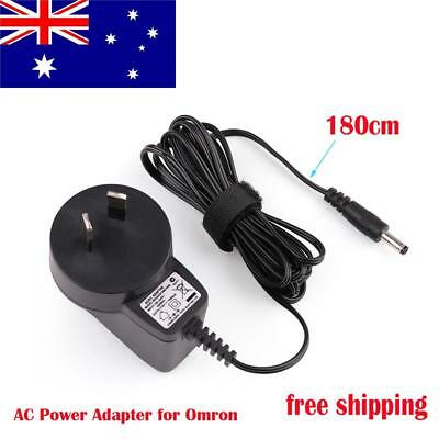 AC Power Adapter charger for Omron HEM 7320 HEM 7121 Arm Blood Pressure Monitor