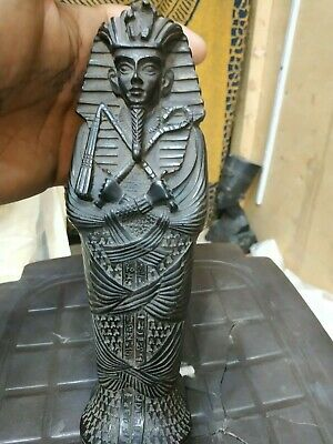 Antique Egyptian Sarcophagus Ancient Middle Kingdom Funerary Ushabti Coffin Bc