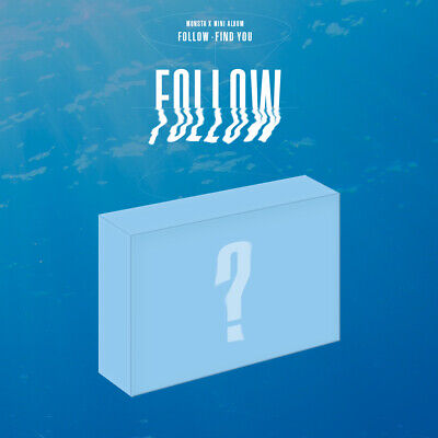 [KIHNO] MONSTA X - FOLLOW FIND YOU KIT+Postcard+Photocards+Free Gift+Tracking No