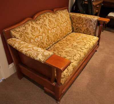 Original pair of 1920s Club Lounge chairs and 3 seat lounge. Perfect condition.
