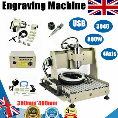 1.5KW VFD 3 Axis USB 6040 CNC Engraver Router Engraving MillING DrillING Machine