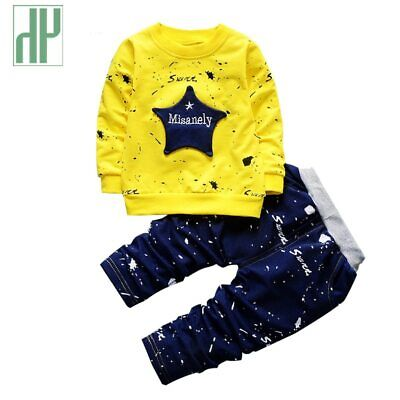 Kids Clothes Star printing hip hop costume for children girls clothing sets