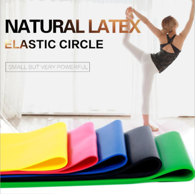 Resistance Bands - Exercise & Fitness Elastic Latex Loop for Home Gym & Yoga