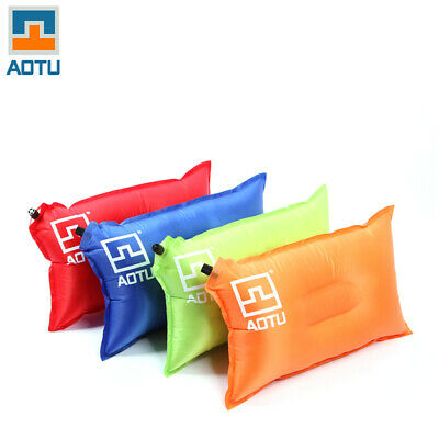 Portable AOTU Automatic Inflatable Air Pillow Ultralight Outdoor Camping P5C5
