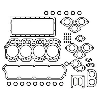 Crank Case Gasket for Case International Tractor Others - 703840R1