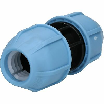 25 x 25mm MDPE Straight Pipe Compression Coupling for Underground Systems PN16