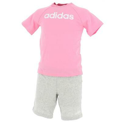 Ensemble set Adidas Lin sum set rse/grc bb Rose 18274 - Neuf