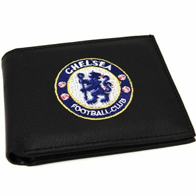 Chelsea Football Club Embroidered Crest Wallet with Free UK P&P