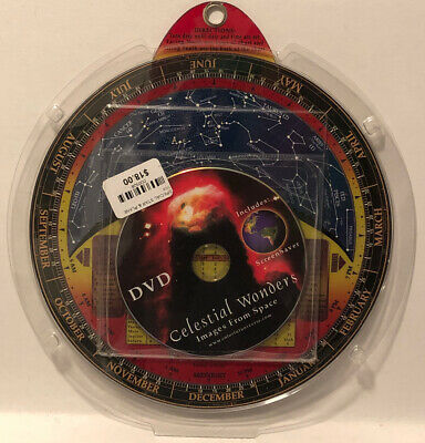 Double-Sided Planisphere Star & Planet Guide + Celestial Wonders DVD
