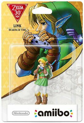 Link Ocarina of Time amiibo - The Legend of Zelda Collection  - NEW AND SEALED