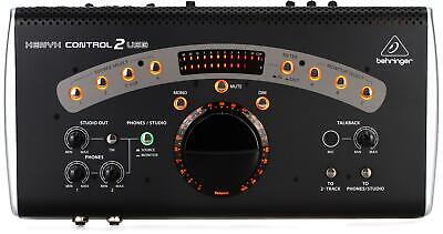 Behringer CONTROL2USB High-end Studio Control with VCA Control and USB Audio Int