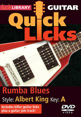 12-Bar Country Rock Quick Licks Style A Lick Library 000393132 Albert Lee; Key