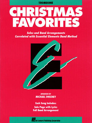 Christmas Favorites for Trombone Essential Elements Band Method Music Book