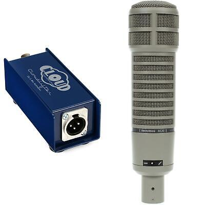Electro-Voice RE20 Broadcast Microphone with Cloudlifter CL-1