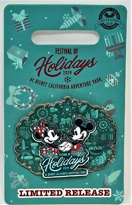Disneyland Disney Parks 2019 Christmas Festival of Holidays DCA Pin Limited Edit