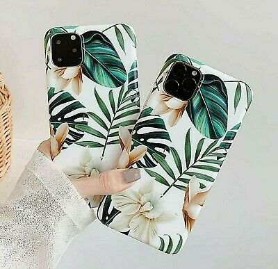 Iphone 11 PRO Max 8 Plus 7 6 XS Max XR Cute Flower Girls Rubber Phone Case Cover