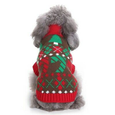 Dog Sweater for Ugly Christmas Sweater Holiday Party Pet Clothes All Dog Sizes