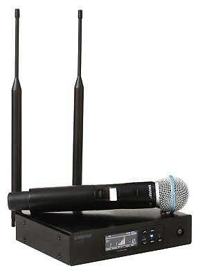 Shure QLXD24/B58 Digital Wireless Handheld Microphone System - J50A Band