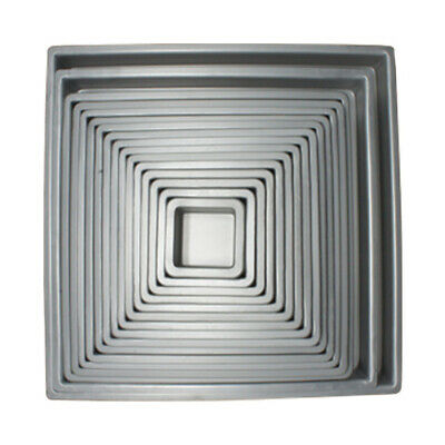 11 Inch x 11 Inch x 2 Inch High Square Cake Pan - Hot Stuff Bakeware