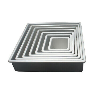 15 Inch x 15 Inch x 4 Inch High Square Cake Pan - Hot Stuff Bakeware