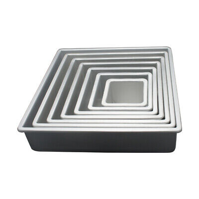 14 Inch x 14 Inch x 4 Inch High Square Cake Pan - Hot Stuff Bakeware