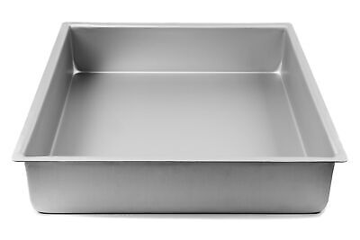 16 Inch x 16 Inch x 4 Inch High Square Cake Pan - Hot Stuff Bakeware