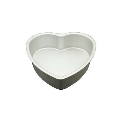 8 Inch x 3 Inch High Heart Shaped Cake Pan with Removable Bottom - Hot Stuff ...