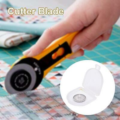 10PCS 18mm Rotary Cutter Refill Blades Quilters Sewing Fabric Cutting Tools