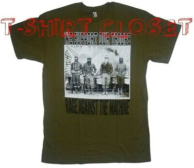Rage Against The Machine We Support Out troops New Men T-Shirt