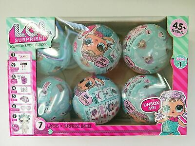 Kids Toy Gift LOL SURPRISE Ball Genuine Confetti Pop Big Sister Doll Box