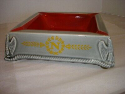 Vintage Courvoisier Cognac Napoleon Ashtray 1972 Advertising Made in France