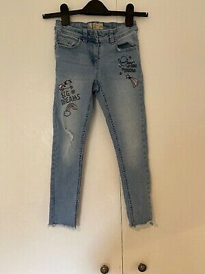 Next Girls Jeans Age 8