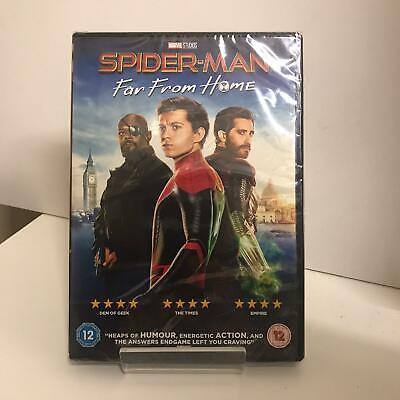 Spider-Man: Far From Home DVD (2019) New and Sealed