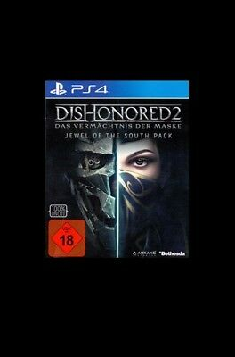 Dishonored 2: Jewel Of The South Pack (PS4)  BRAND NEW AND SEALED - IMPORT
