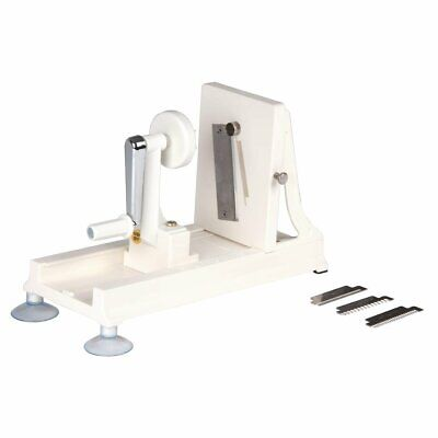 Vogue Japanese Vegetable Spiralizer and Slicer with 3 s/s blades - D446 Catering